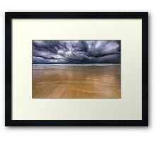 I think it's about to Rain Framed Print