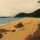 rocks on the beach by xXDarkAngelXx