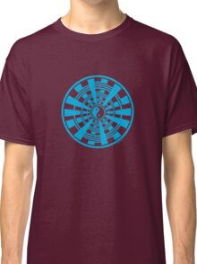 Mandala 36 Yin-Yang In To The Blue Classic T-Shirt