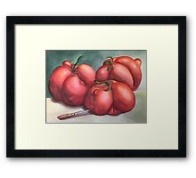 Deformed Tomatoes Framed Print