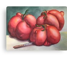 Deformed Tomatoes Canvas Print