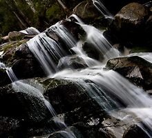Ampitheatre Falls, Noojee by Samantha Cole-Surjan