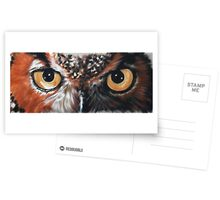 Eye-Catching Great Horned Owl Postcards