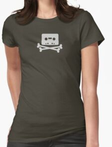 Home Taping Is Killing Music Logo Womens Fitted T-Shirt