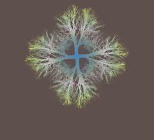 exponential bifurcation | gradient Unisex T-Shirt