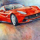 Ferrari F12 Berlinetta 2014 by Yuriy Shevchuk
