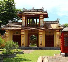 Gates of the Imperial City IV - Hue, Vietnam.  by Tiffany Lenoir