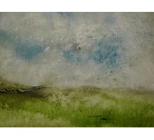 sky over herefordshire hills Photographic Print