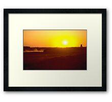 Prairie Harvest Framed Print