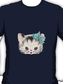 Sweet Heart Retro Kitty 2 T-Shirt