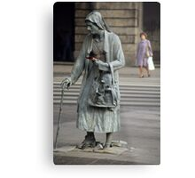 Anonymous Pedestrians Metal Print