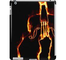 Classic violin in flame 3 iPad Case/Skin