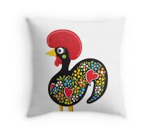 Symbols of Portugal - Rooster Nr. 07 Throw Pillow