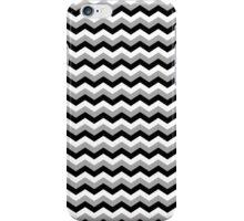 Black, White & Grey Chevron Zigzag Pattern iPhone Case/Skin