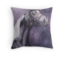 """Nightwatch"" Throw Pillow"
