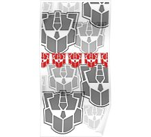 The Iconic Optimus (white) Poster
