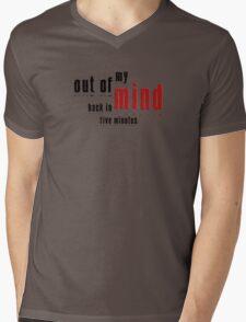Out of My Mind  Mens V-Neck T-Shirt