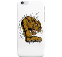 Cougar ripping iPhone Case/Skin