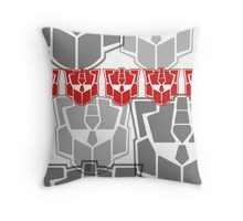 The Iconic Optimus (white) Throw Pillow