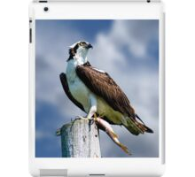 Osprey with Pike iPad Case/Skin