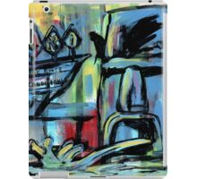 Tiki Motel (Fountain) iPad Case/Skin