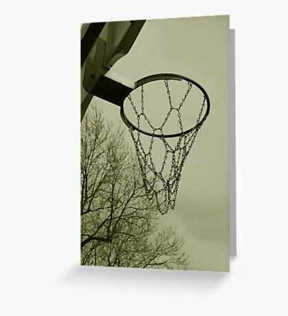 Hoops Greeting Card