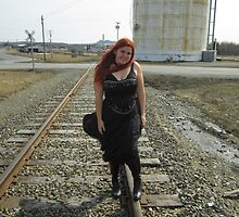 on the tracks  by LindaMCrate