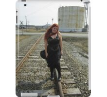on the tracks  iPad Case/Skin