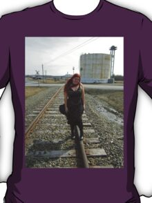 on the tracks  T-Shirt