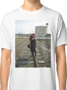 on the tracks  Classic T-Shirt
