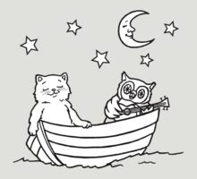 The Owl and the Pussy-cat went to sea by Candles