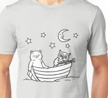 The Owl and the Pussy-cat went to sea Unisex T-Shirt