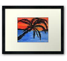 Jamaican Scene Framed Print