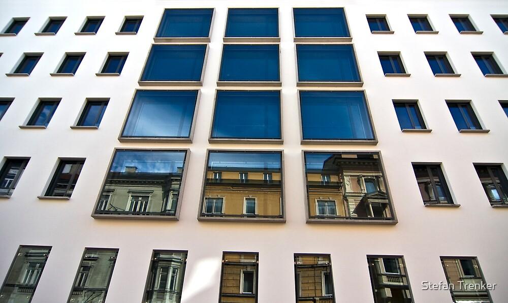 Blue Reflection by Stefan Trenker