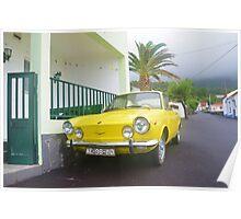 Classic Fiat 850 Sport Poster