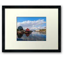 Peggy's Cove Harbor  Framed Print