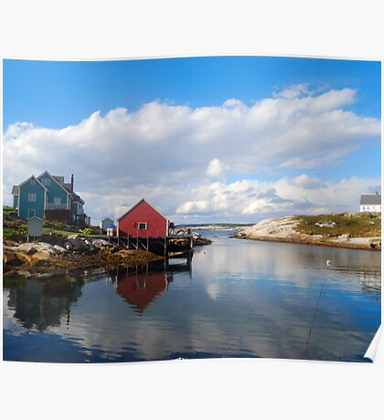 Peggy's Cove Harbor  Poster