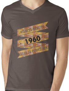 Highest Quality 1960 Aged To Perfection Mens V-Neck T-Shirt