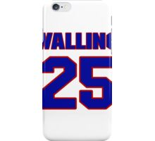 National baseball player Denny Walling jersey 25 iPhone Case/Skin