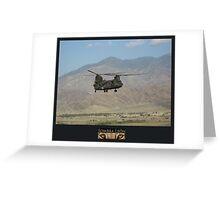 Chinook Greeting Card