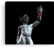 Perseus Beheading Medusa Canvas Print