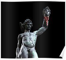 Perseus Beheading Medusa Poster