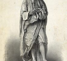 Statue of Isaac Newton by Vintage Works