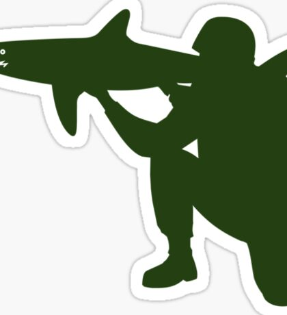 Shark Launcher Sticker
