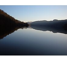 Thirlmere at dusk Photographic Print