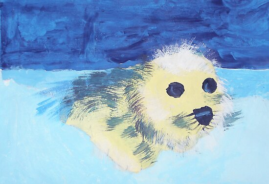 Seal Pup - Rhian by John Brotheridge