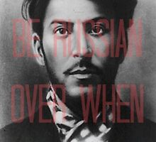 Stop Stalin Babe and Get Over Here by vforvery