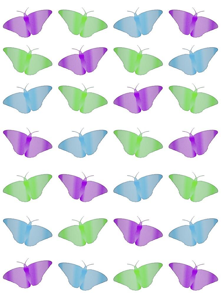 butterflies & flutterbies by Lisa Kent