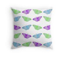 butterflies & flutterbies Throw Pillow