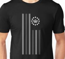 Crown Grey - Flag Unisex T-Shirt